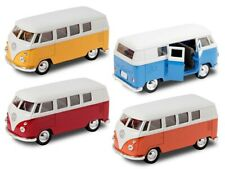 VW Bulli Bus 1963 T1 Modellauto 12 cm Classical Bus  Modell Bully Welly