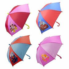 New Disney Junior Umbrella Mickey/Minnie Mouse Princess Cars Gift Printed Design