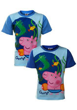"PEPPA PIG ""GEORGE WITH DINOSAUR"" BOYS/CHILDREN'S T-SHIRT"