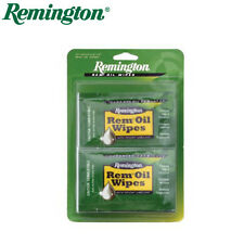 12 x REM OIL WIPES Gun Pistol Rifle Remington Teflon Lubricant Prevents Rust