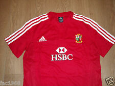 British and Irish Lions South Africa Tour 2009 Women's Red Rugby Shirt HSBC New