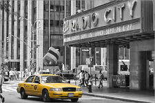 Poster / Leinwandbild New York Yellow Cab - Marcus Klepper