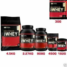 Optimum Nutrition ON 100% Gold Standard whey Polvo Proteínas 908g 2.2kg 4.5kg
