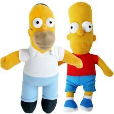 Simpsons Fanartikel Stoffpuppe Stoff Figuren Simpsons Puppe Bart Homer Simpson