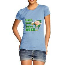 Twisted Envy Women's Irish You Were Beer T-Shirt