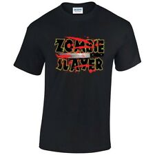 ZOMBIE SLAYER T Shirt  Choice of T Shirt Colours / Free Postage