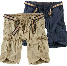SURPLUS RAW VINTAGE SUMMER SHORT CARGO SHORT BERMUDA KURZE HOSE ARMY SHORTS WOW