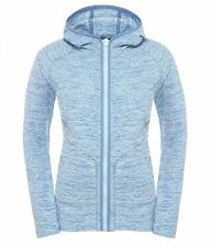 The North Face Fleece Jacket Women Nikster Full Zip Hoody, Cool Blue Stripe