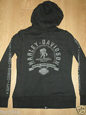 Genuine Harley Davidson Wounded Warrior Project Hoodie Hooded Top Zip M New BNWT