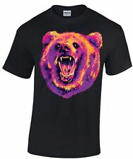 BEAR T Shirt  *Choice of T Shirt Colours/Free Postage/Sizes S - 5XL*