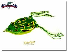 ARTIFICIALE DANCER FROG RAPTURE SPECIAL PESCA BASS NATURAL EFFECT 3 MIS RN