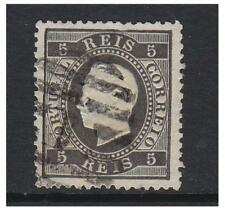 Portugal - 1871, 5r - Perf 12 1/2 stamp - Used - SG 69