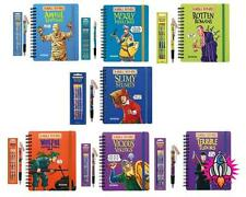 NEW HORRIBLE HISTORIES STATIONARY SET NOTEBOOK PAD CHARM PEN & 4 PACK PENCIL SET