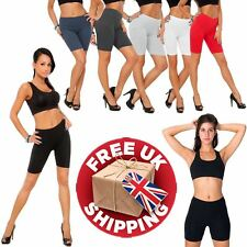 BANG ON THE TREND PREMIUM COTTON  ACTIVE WEAR DANCE CYCLING GYM LEGGINGS SHORTS