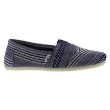 Toms Classic Mens Blue Slip On Shoes