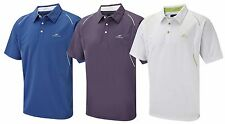 Cypress Point T-Shirt Polo Da Golf Scuro Lilla/Viola Assorbe Il Sudore Grande