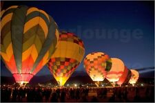 Poster / Leinwandbild Internationale Ballon Fiesta - Ralph Lee Hopkins
