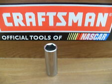 """NEW CRAFTSMAN 3/8"""" 6 PT POINT SAE inch DEEP SOCKET TOOLS CHOOSE SIZE new mint"""