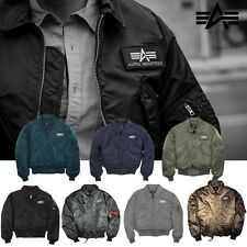 Alpha Industries Herren Jacke CWU 45 Men Jacket Bomber Flieger S M L XL XXL 3XL