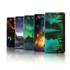 Official Chris Cold Case for Sony Xperia Z3 Compact /Alien World Cosmos