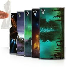 Chris Cold Gel/TPU Case for Sony Xperia Z5 Premium/5.5 /Alien World Cosmos