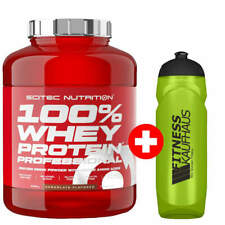 Scitec Nutrition 100% Whey Protein Professional 2350g Eiweiss + Trinkflasche