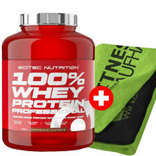 Scitec Nutrition 100% Whey Protein Professional 2350g Eiweiss + Handtuch