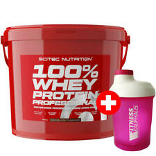 Scitec Nutrition 100 % Whey Protein Professional 5000g Eiweiss + Ladyline Shaker