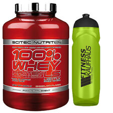 Scitec Nutrition 100% Whey Protein Professional LS 2350g Eiweiss + Trinkflasche