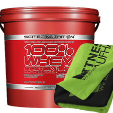 Scitec Nutrition 100% Whey Protein Professional LS 5000g Eiweiss + Handtuch