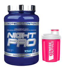 Scitec Nutrition Night Pro 900g Eiweiss + Ladyline Shaker