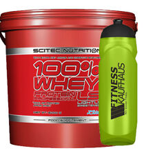 Scitec Nutrition 100% Whey Protein Professional LS 5000g Eiweiss + Trinkflasche