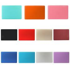 """Colors Rubberized Hard Case Shell with Keyboard Cover for Macbook 11""""12""""13""""15"""""""
