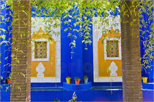 Poster / Leinwandbild Majorelle Gardens (Gardens of Yve... - M. Williams-Ellis