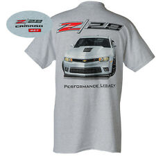 CHEVROLET CAMARO T-SHIRT - 427 Z/28 Official USA Licensed M L XL Ash grau