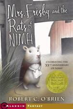 MRS. FRISBY AND THE RATS OF NIMH - NEW PAPERBACK BOOK