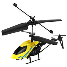 Hot Kids Radio Remote Control Aircraft 2.5CH Mini Gyro Metal Helicopter RC Gifts