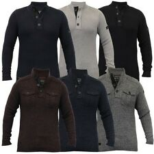 Herren Wollmischung Strick Pullover Top Pullover Winter Pullover By Dissident