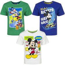 Boys Disney Mickey Mouse TShirt Top Kids Clothes  3 4 6 8 Years