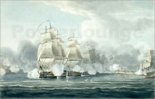 Poster / Leinwandbild The Squadron under command of Sir F.T ... - T. Whitcombe