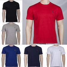 POLO Ralph Lauren Mens T-Shirt Classic & Custom Fit Crew Neck 100% Cotton BNWT!