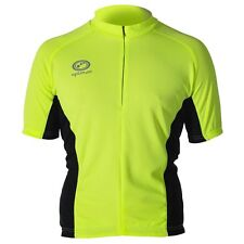 Optimum Nitebrite Mens Shorts Sleeved Cycling Jersey/Top/T-Shirt