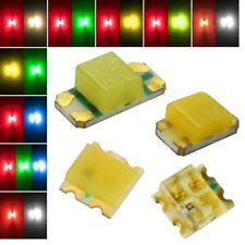 SMD LEDs 0605 2 Chip STEUERBAR / DUO-LED Smds multicolour Bi-Color mini 0603 Lok