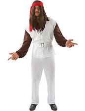 Mens 1960s 60s Hippy Hippie Polyester Paul Woodstock Fancy Dress Costume