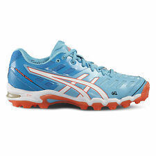 ASICS gel-hockey TYPHOON 2 Donna Hockey SCARPE 2016 Hockey ASTROS Blu