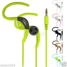 Universal 3.5mm Auriculares Estéreo Gancho oreja auriculares para iPhone MP3 MP4