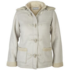 Ladies Fleece Jacket Womans Toggles Bonded Lined Hood 10-24 RRP £29.99 REDUCED