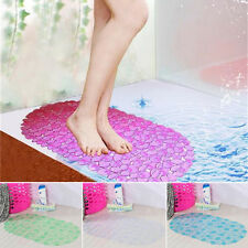 Lovely PVC Large Strong Suction Anti Bath Shower Foot Bathroom Non Slip Mat