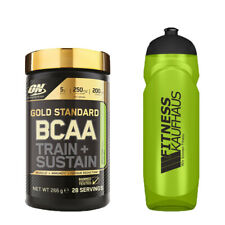 Optimum Nutrition Gold Standard BCAA Train + Sustain 266g + Trinkflasche