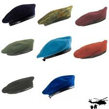 Bundeswehr Beret (Flat cap) 9 Colours Paratrooper, KSK, DSO, Army aviator